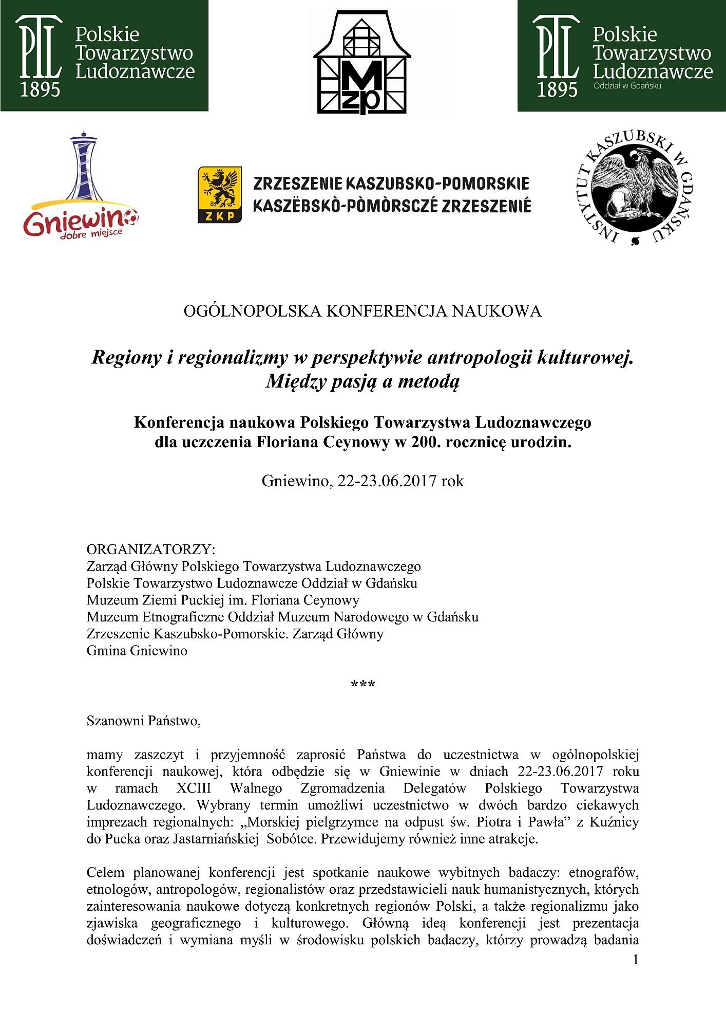 Zaproszenie na Konferencję PTL Gniewino 2017.06.02_01
