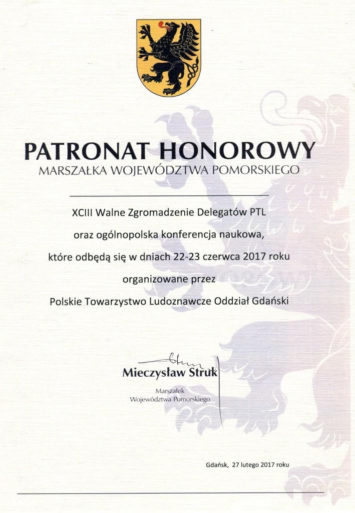 patronat marszałka